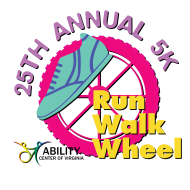 25th Annual Ability Center of Virginia Wheel, Walk or Run