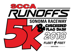 2019 SCCA Runoffs 5K and Checkered Flag Dash