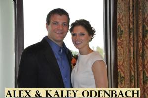 Alex and Kaley Odenbach