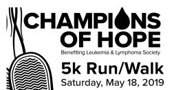 Champions of Hope 5K Run/Walk