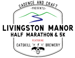Livingston Manor Half Marathon & 5K, Featuring Catskill Brewery