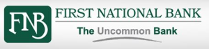 "First National Bank ""The Uncommon Bank"""