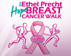 THE ETHEL PRECHT HOPE BREAST CANCER WALK