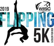 2019 WISC Gymnastics Flipping 5K & 1 Mile Color Fun Run