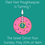 The Great Donut Run at Fleet Feet Poughkeepsie