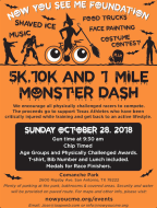 Now You See Me Foundation 5K, 10K & 1 Mile - Monster Dash