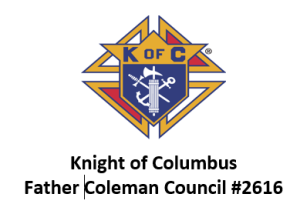 Knights of Columbus Father Coleman Council 2616