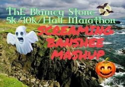 POSTPONED- The Blarney Stone & Screaming Banshee Mashup 5k/10k/Half Marathon & Kids Race - Oct. 25 2020