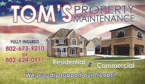 Tom's Property Maintenance