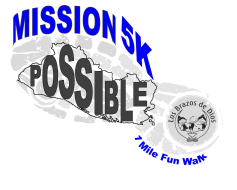 Mission Possible 5k and 1mile fun walk