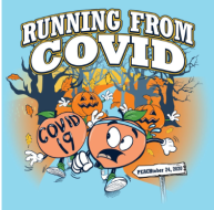 LA Peach Fest Running From COVID Virtual 5K Run