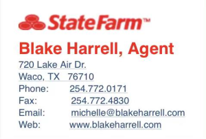 Blake Harrell, State Farm
