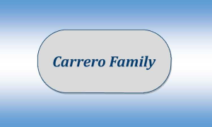 Carrero Family