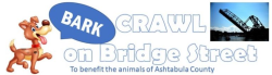 BARK CRAWL ON BRIDGE STREET