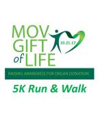 MOV Gift of Life 2nd Annual 5K Run & Walk