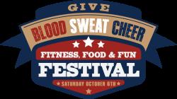 Blood Sweat Cheer 5K Trail Run   /1 Mile Family Walk/    Kids 50 Yard Dash