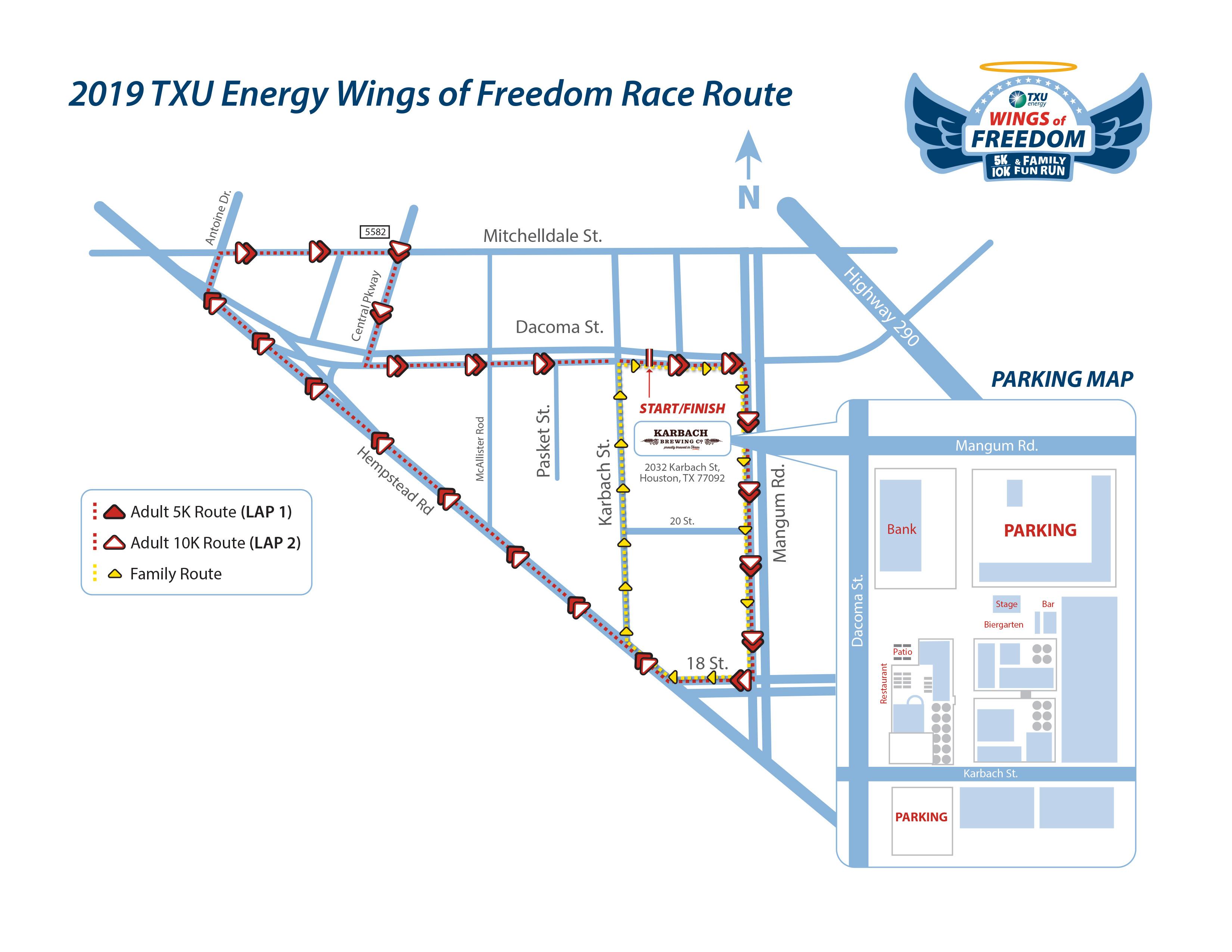 Txu Energy Plans >> Txu Energy Wings Of Freedom 5k 10k And Family Fun Run