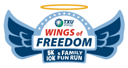 TXU Energy Wings of Freedom 5k/10k and Family Fun Run