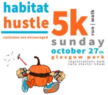 Habitat's Hustle 5k at Halloween