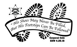 Corporal Cole Memorial 5k & Half Marathon