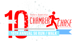 10th Annual Peters Township Chamber Chase 5K Run/Walk