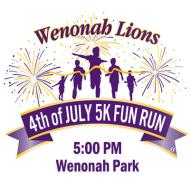 Wenonah Lions 4th of July 5K Fun Run