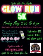 Light Up the Night Glow Run