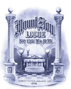 Mt. Zion Lodge #135 of Free and Accepted Masons