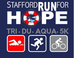 Stafford Run for HOPE 5k/Triathlon/Duathlon/AquaBike #