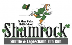 St. Clare Walker Middle School Shamrock Shuffle & Leprechaun Fun Run