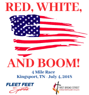 Red, White, and BOOM! 4 Mile Run