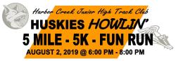 Huskies Howlin' 5 Mile - 5K - Fun Run