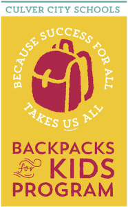 Culver City Backpack Kids Program