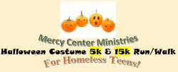 Mercy Center Ministries Halloween Costume 5K and 15K Run / Walk