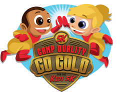Camp Quality's Go Gold for the Kids 5k