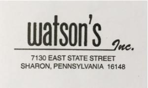 Watson's Inc.