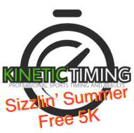 Sizzlin' Summer Free 5K by Kinetic Timing