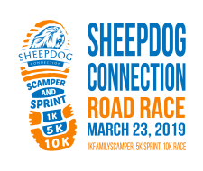 Sheepdog Connection - Scamper & Sprint (1K Fun Run / 5K / 10K)