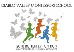 DVMS Butterfly Fun Run 2018