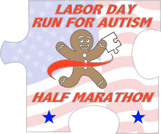 Run for Autism Labor Day Half Marathon presented by Gingerbread Man Running Company