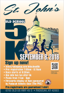 St. John Old School 5K Run/ Walk