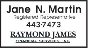 Raymond James (Jane N. Martin)
