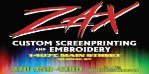 Zax Custom Screenprinting and Embroidery