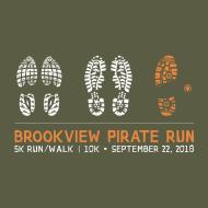 5th Annual Brookview Pirate Run 5K / 10K