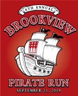 6th Annual Brookview Pirate Run 5K / 10K