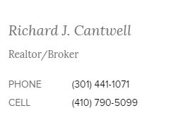 Rich Cantwell, Town Center Realty and Associates