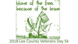 Lee County Veterans Day 5k