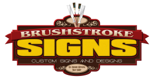 Brushstrokes Signs