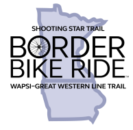 Border Bike - Official Interstate Bike Ride Logo