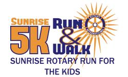 Sunrise Rotary Run for the Kids